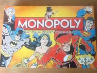 Monopoly DC Comics #1 Special Edition NEW SEALED