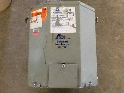 Acme Electric T2535163s Transformer 1 Phase 10kva 120240v Out