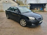 Toyota Avensis 17inch alloy wheels and tyres TR model