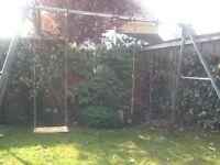 TP giant triple steel swing frame