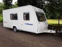 Bailey Ranger 470/4 Series 5 4 berth caravan 2008 MOTOR MOVER, Awning, Bargain !
