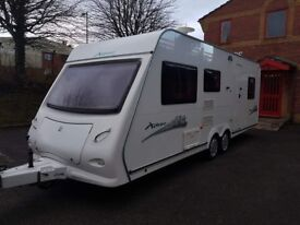 Xplore Twin axle 6 berth 2009 caravan