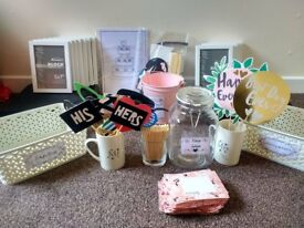 Assorted Wedding Related Items