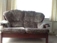 Sofas 1x2 seater & 1 X 3 seater sofa