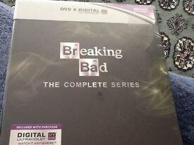DVD Breaking Bad - complete series brand new unopened
