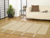 Brand new in package Visiona Small Soft Thick Contemporary Rug Beige Cream 60 X 110 cms