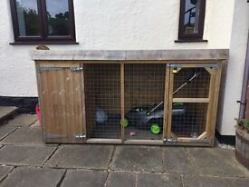 Dog kennel and inclusive run