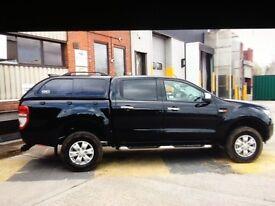 Ford Ranger XLT. 15 plate. Black