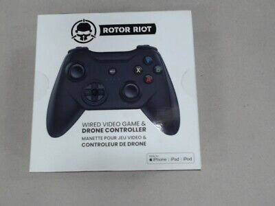 Rotor Riot Wired Video Game & Drone Controller