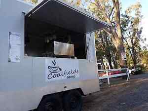 Coffee Trailer set up and ready to go !! Blackwater Central Highlands Preview