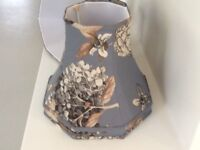 Laura Ashley fully lined floral design ceiling / lamp shades