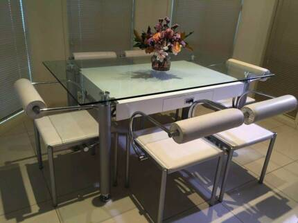 7 Piece Dining Set Matching Coffee Table