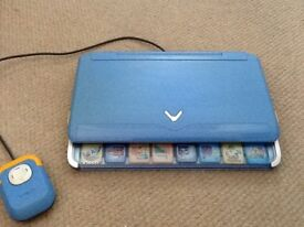 Vtech Activ8 notebook with mouse and power adaptor, vgc