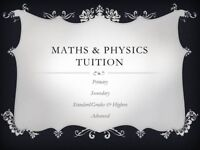 Maths and/ or Physics Tutor - Tuition available in Newton Mearns and surrounding areas