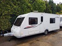 2013 Elddis Odyssey 540 4 berth caravan FIXED BED, MOTOR MOVER, Awning, VGC BARGAIN !