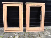 Pair of New Timber Window Frames