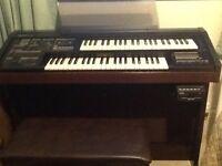 Yamaha electronic organ