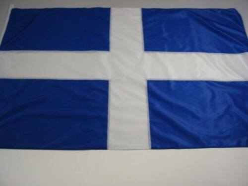 5x3 Ft Old Design GREEK Flag ALL SEWN Embroidered (NO PRINT) TOP QUALITY Greece