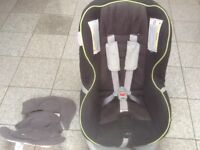 Britax First Class Plus car seat fornewborn upto 4yrs(upto 18kg weight)reclines,washed and cleaned