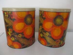 Vintage WILLOW CANISTERS Tins RETRO Gawler Gawler Area Preview