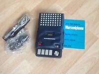 Vintage Marconiphone Cassette Recorder