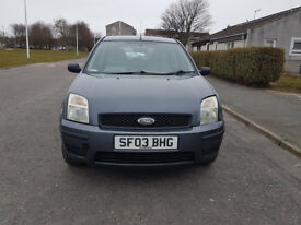 1.4 PETROL FORD FUSION SERVICE HISTORY LONG MOT EXCELLENT CONDITION