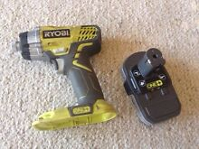 Ryobi Impact driver + battery Asquith Hornsby Area Preview