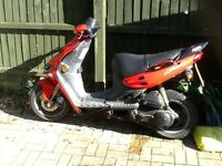 Suzuki katana 50 cc moped