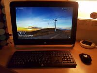 HP Pavilion 22-h010ea All-in-One Touch PC (inc. Wireless Mouse and Keyboard)