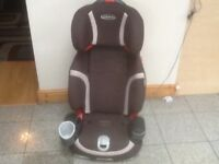 Graco Nautilus 2piece full highback booster car seat for 4yrs to 12yrs(15kg-36kg)washed&cleaned-£65