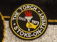 Brand new sew on embroidered The Torch Stoke on Trent Northern soul patches.