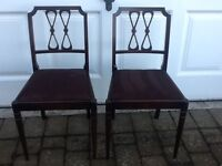 Dining chairs (2)