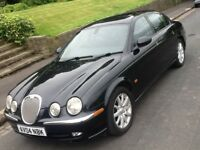 2004 JAGUAR S TYPE 3.0'V6 SE AUTO WITH FULL LEATHER INTERIOR IN SUPERB CONDITION