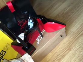 Christian Louboutin 100 pigalle patent
