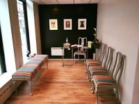 Consultation and therapy rooms for consultant, manual, active and talking therapists Central Watford