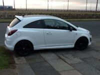 Vauxhall corsa limited edition white 2014