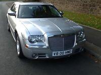 Chrysler v8 5.7 hemi 300c very rare car including private plate
