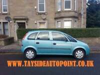 REDUCED VAUXHALL MERIVA DIESEL 1.7, FULL 12 MONTHS MOT, ONLY £1095