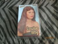 LONG BROWN FANCY DRESS WIG BY SMIFFYS GREAT FOR PARTY OR HEN DO