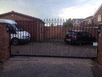 Metal steel slide gate