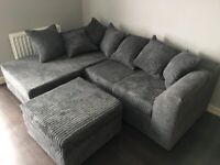 ¬¬ BYRON JUMBO CORDED ¬¬ CORNER SOFA OR 3+2 SOFA SET AVAILABLE NOW IN STOCK