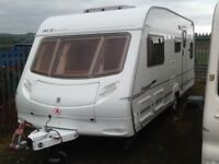 2005 ace award tristar fixed bed 4 berth with fitted mover