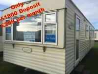 🌟🌟3 BED DG & HEATED STATIC CARAVAN AT SANDY BAY HOLIDAY PARK OPEN 12 MONTHS WITH BEACH ACCESS🌟🌟