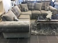 VERONA CHESTERFIELD DESIGN BRAND NEW CORNER SOFA AVAILABLE IN 3+2 SOFA SET BOOK YOUR ORDERS NOW