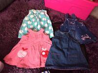 Girls 3-6 Months Baby Clothing Bundle