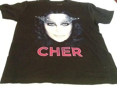 Cher T-shirt Concert d2k tour Size Large T-shirt New