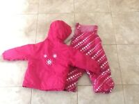 Childs snow suit