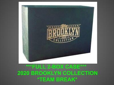 ORIOLES - 2020 TOPPS BROOKLYN COLLECTION FULL CASE 2-BOX *TEAM BREAK*