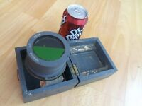genuine ww2 fighter pilots compass in its wooden case,large,intact.