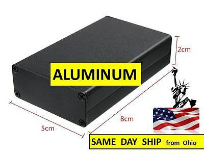 Aluminum Project Box - Small - Electrical Engineering Supply - Black Box Case